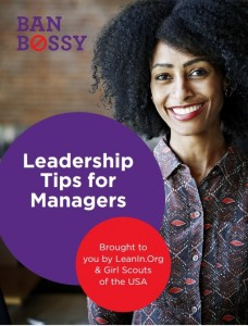 Leadership tips cover