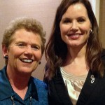 Rayona Sharpnack with Geena Davis