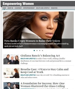 Empowering Women home page_Tyra