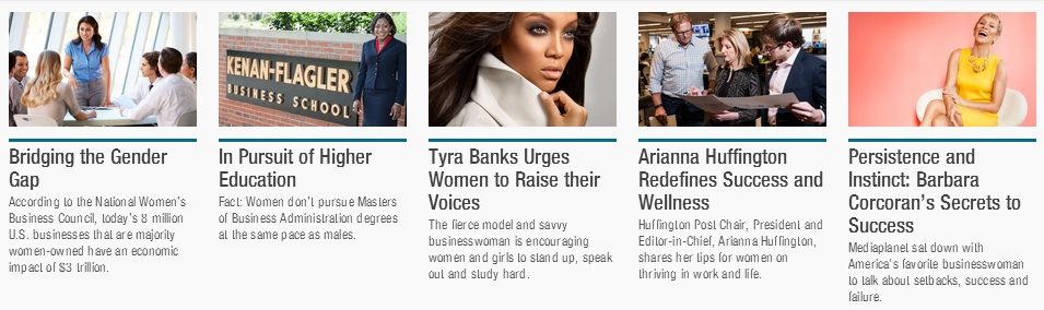 Articles in Empowering Women insert