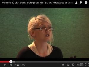 Kristin Schilt video