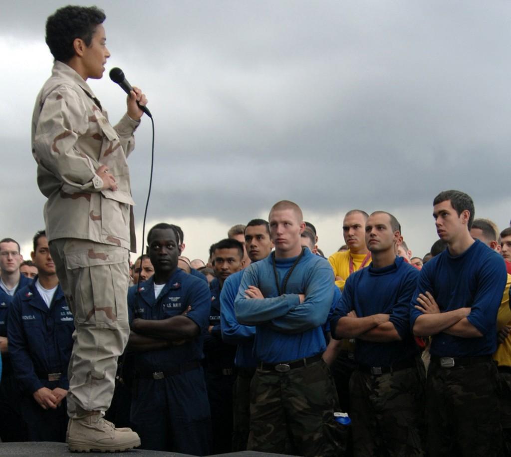 Four-star admiral Michelle Howard