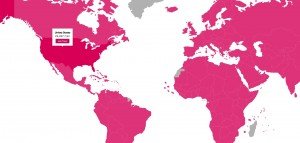 HeForShe pledge map
