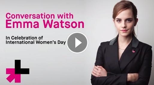 emma watson facebook 3-15 video 1