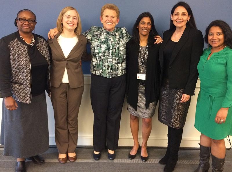Women Leading Change participants