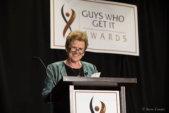 Rayona Sharpnack at Guys Who Get It Awards